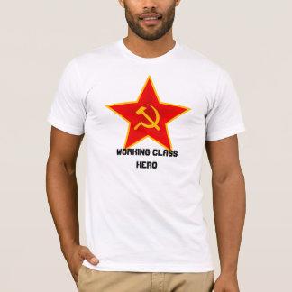 """Red Star """"Working Class Hero"""" T-Shirt"""