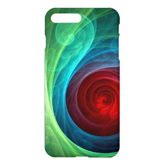 Red Storm Abstract Art Matte iPhone 8 Plus/7 Plus Case