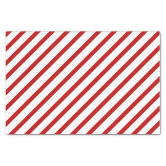 Red Stripe Tissue Paper