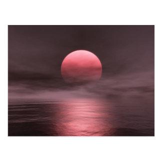 Red Sun Postcard