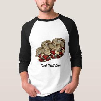 Red Tail Boa Basic 3/4 Sleeve Raglan T-Shirt
