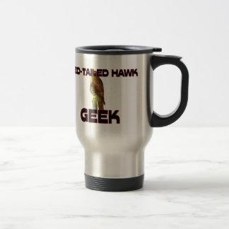 Red-Tailed Hawk Geek Coffee Mug