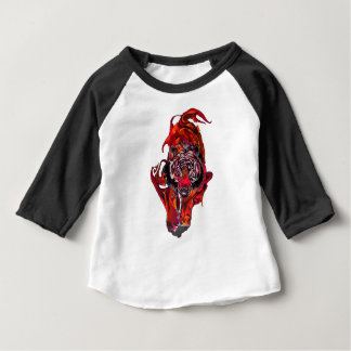 Red Tiger Baby T-Shirt