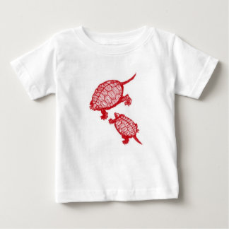 Red Turtles Baby T-Shirt