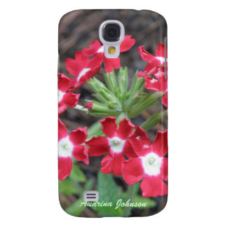 Red Verbena 3G/3GS  Galaxy S4 Case