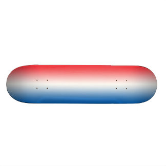 Red White And Blue 18.1 Cm Old School Skateboard Deck
