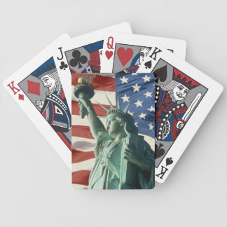 Red, White, and Blue Bicycle Playing Cards