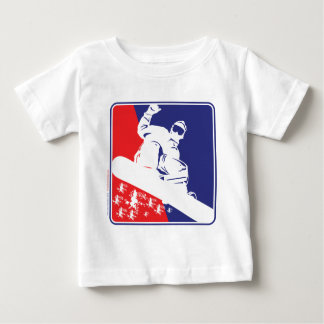 Red-White-and-Blue-Snow-Boa T Shirts