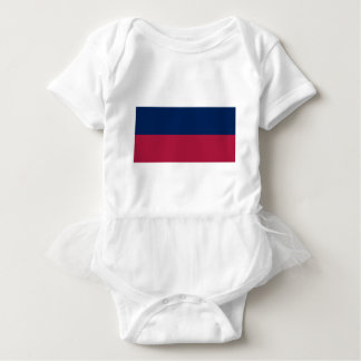 Red White and Blue Stripes Baby Bodysuit