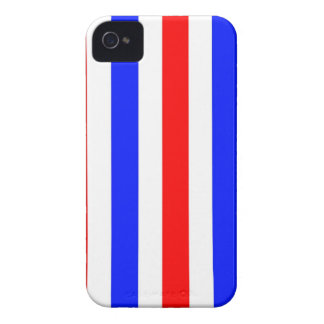 Red, white and blue stripes iPhone 4 Case-Mate cases