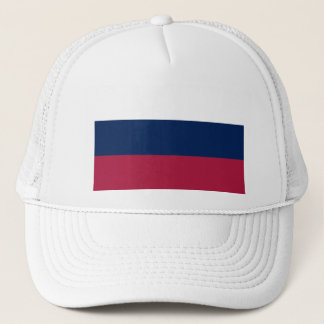 Red White and Blue Stripes Trucker Hat