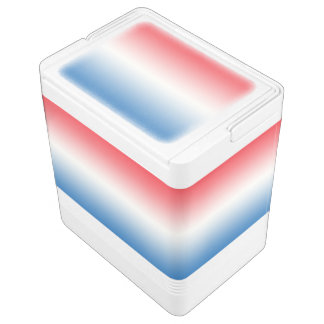Red White & Blue Ombre Chilly Bin