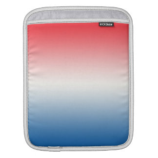Red White & Blue Ombre iPad Sleeve