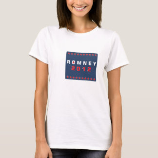Red White Blue Romney 2012 T-Shirt