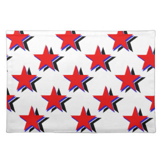 Red White Blue Stars Placemat