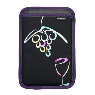 Red wine and iPad iPad Mini Sleeves