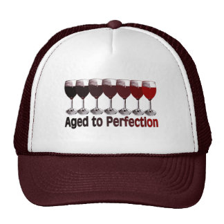 Red Wine Birthday Cap