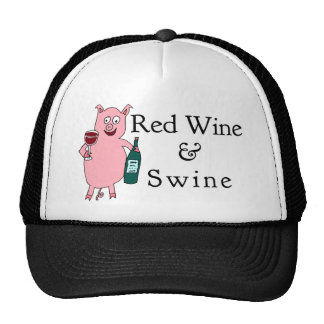 Red Wine & Swine Cap