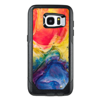 Red Yellow Blue Abstract Painting OtterBox Samsung Galaxy S7 Edge Case