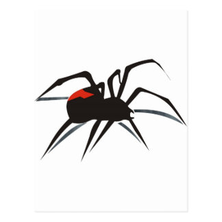Redback Spider Postcard