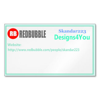 Redbubble Business Card