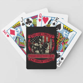 RedFriday Remember Everyone Deployed playing cards