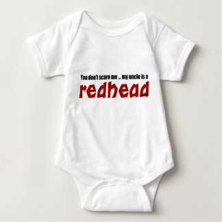 Redhead Uncle Baby Bodysuit