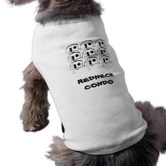 REDNECK CONDO dog t-shirt