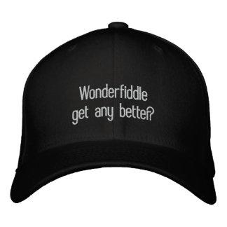 Redneck word Wonderfiddle cap Embroidered Hat