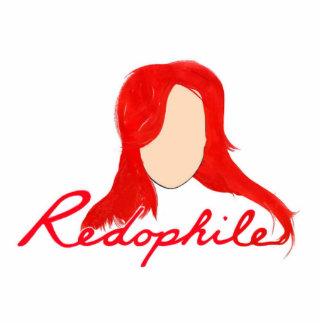 REDOPHILE STANDING PHOTO SCULPTURE