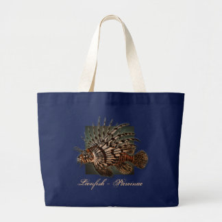 Reef coral fish fishing gifts large tote bag