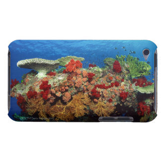Reef scenic of hard corals , soft corals barely there iPod cover