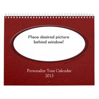 Reel Toons: Customizable Calendar 2013
