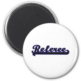 Referee Classic Job Design 6 Cm Round Magnet
