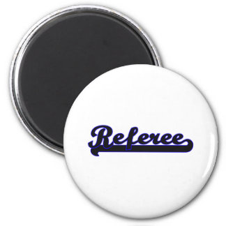 Referee Classic Job Design 2 Inch Round Magnet