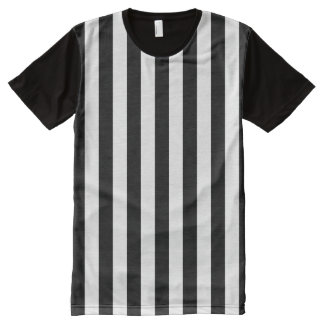 Referee Stripes All-Over Print T-Shirt