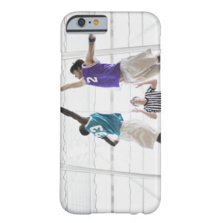 Referee watching basketball players jumping barely there iPhone 6 case