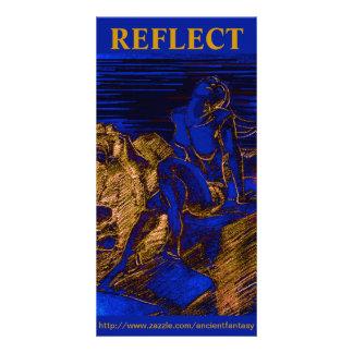 """""""REFLECT"""" Custom Fine Art Photocard Photo Card"""