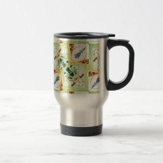 Reflected Flowers Travel Mug