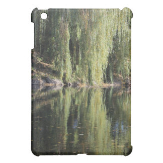 Reflected Willow Trees In River iPad Mini Cover