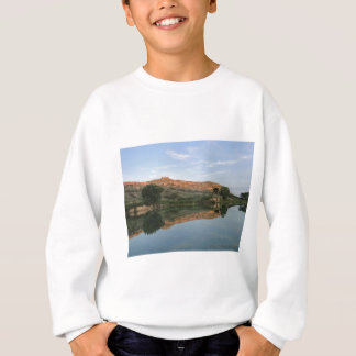 REFLECTION at Lake Scott State Park Kansas Sweatshirt