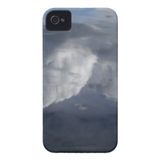 Reflection of clouds on water iPhone 4 Case-Mate cases