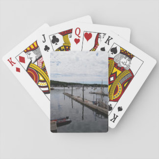 """Reflections"" Boothbay Harbor Classic Playing Card"