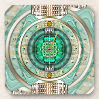 Reflections of Time Beverage Coasters