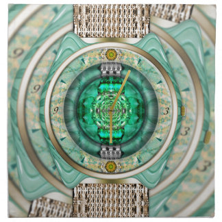 Reflections of Time Cloth Napkins