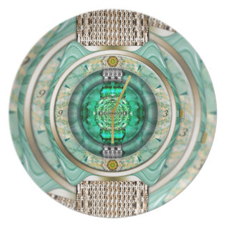 Reflections of Time Dinner Plate