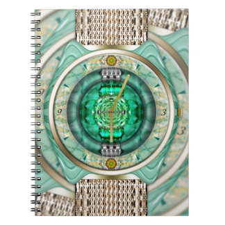 Reflections of Time Spiral Note Book