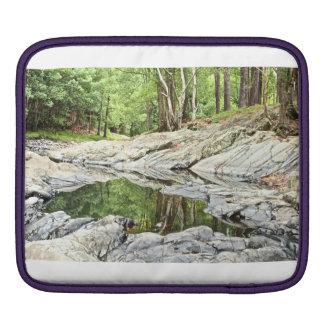 Reflective Pool iPad Sleeve
