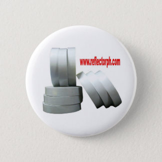 Reflector Reflective Gray Tape Reflectors 6 Cm Round Badge
