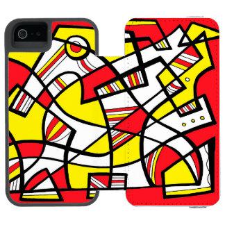 Refreshing Quiet Spirited Friendly Incipio Watson™ iPhone 5 Wallet Case